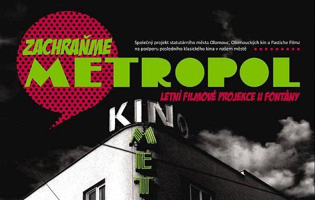 Zachraňme Metropol - plakát