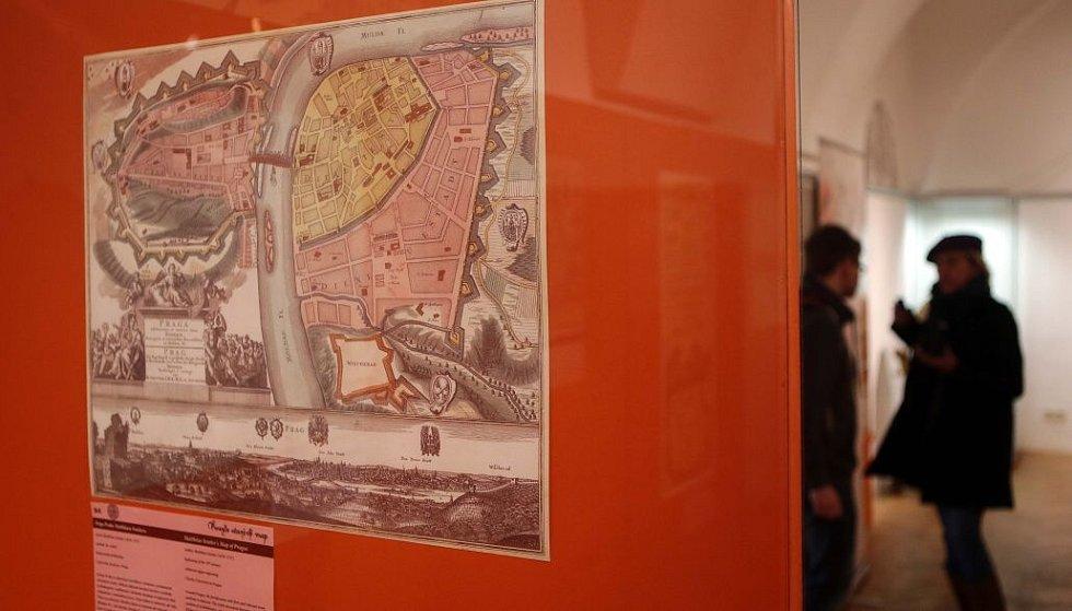 Výstava Kouzlo starých map v olomouckém Vlastivědném muzeu