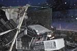 Hromadná nehoda na R35 ve směru z Olomouce na Ostravu