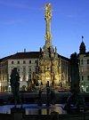 Sloup Nejsvětější Trojice na Horním náměstí v Olomouci