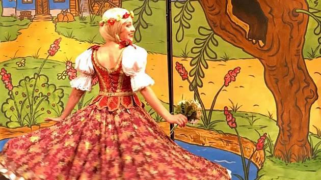 Princezna ze mlejna Divadla Pegas