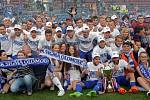 Sigma slaví zisk poháru za první místo v FNL
