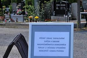 Městský hřbitov ve Šternberku. 27.6.2019