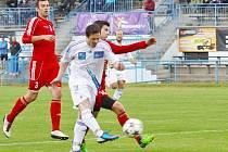 Šternberk (v bílém) proti Kojetínu