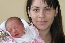 Michaela Kotková, Olomouc. Narozena 30.1.2008 v Olomouci, váha 2650 g, míra 47 cm.