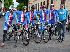 Cyklisté MAPEI Merida Kaňkovský