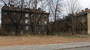 Bývalé romské ghetto ve Škodově ulici v Přerově