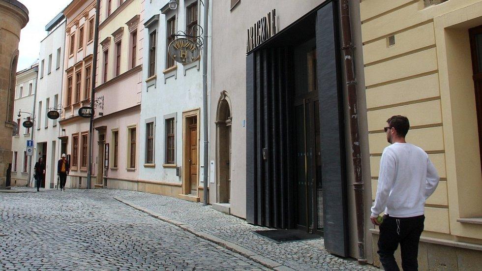 Hotel Arigone v centru Olomouce, květen 2021