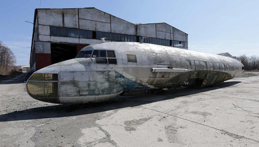 Nový přírůstek olomouckého leteckého muzea - Iljušin IL-14fg