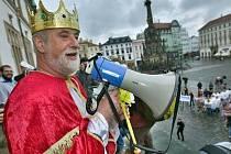Jindřich Štreit jako Král majálesu