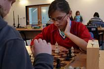 Šachový turnaj pro nevidomé v Základní škola prof. Vejdovského v Olomouci