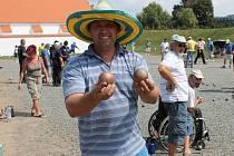 Mezinárodní turnaj v petanque v Korunní pevnůstce