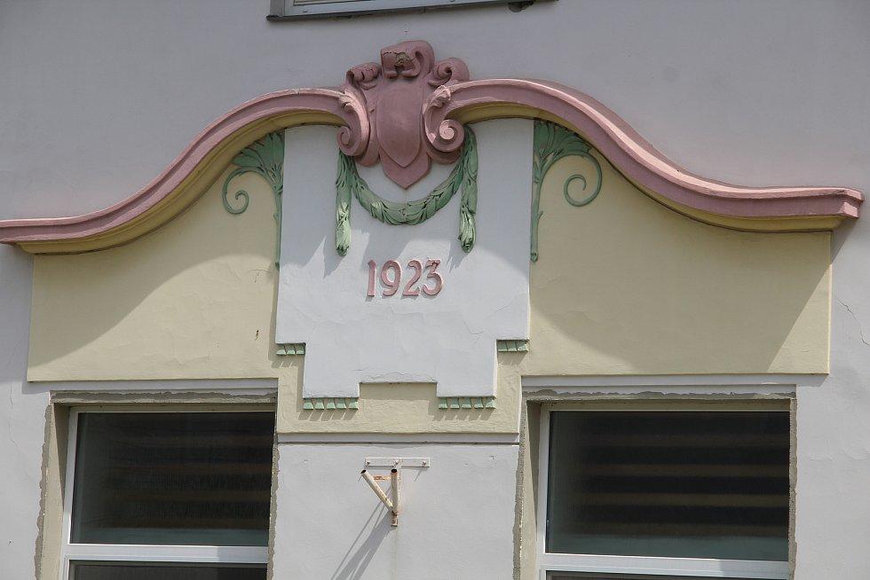 Budova sokolovny v Křelově