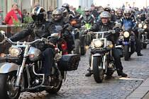 Motorkáři v Olomouci
