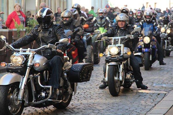 Motorkáři vOlomouci