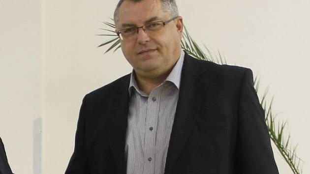 Uničovský starosta Radek Vincour (ODS)