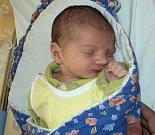 Otakar Kadlec, Moravský Beroun, narozen 2. dubna ve Šternberku, míra 48 cm, váha 3170 g