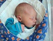 Štěpán Palucha, Litovel, narozen 16. srpna ve Šternberku, míra 50 cm, váha 3180 g