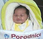 Aneta Pudelová, Olomouc narozena 3. prosince míra 55 cm, váha 4400 g