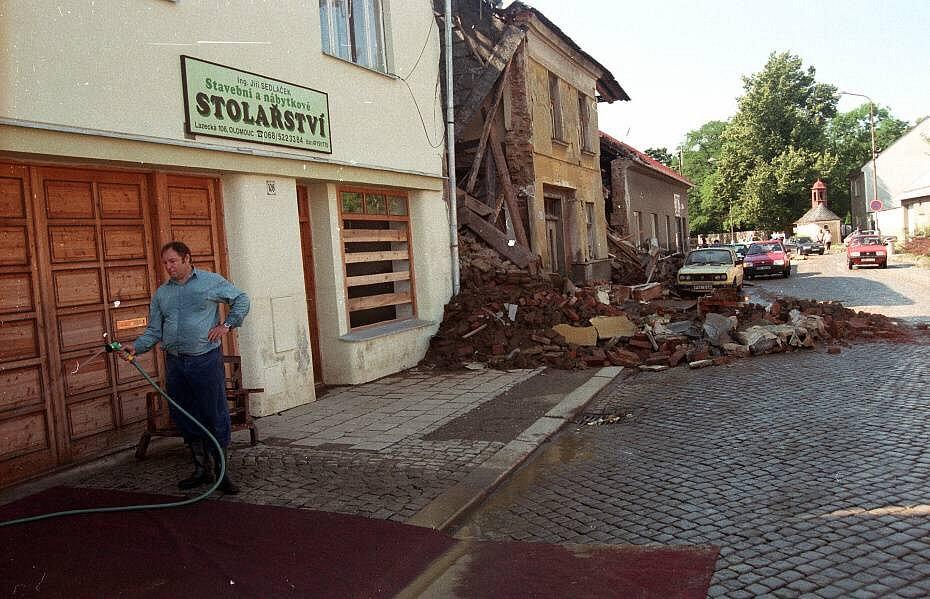 Olomouc, Lazce, 12. července 1997