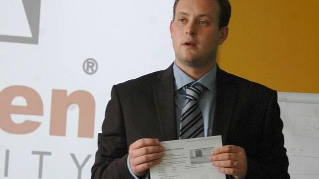 Bývalý generální a poté obchodní ředitel Arden Reality Milan Vašek
