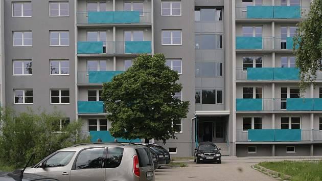 Nové byty s pečovatelskou službou na Přichystalově 70 v Olomouci.