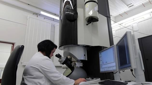 Regionální centrum pokročilých technologií a materiálů (RCPTM) v Olomouci - nejvýkonnější elektronový mikroskop v Česku