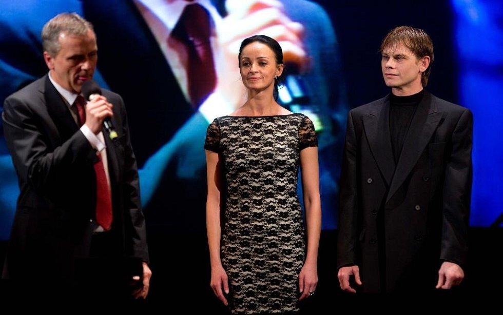 Hejtman Jiří Rozbořil, Monika Globová a Valerij Globa - Cena hejtmana Olomouckého kraje za výjimečný počin v oblasti kultury
