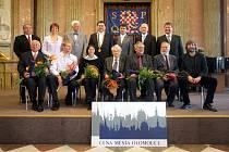 Laureáti Cen města Olomouce.