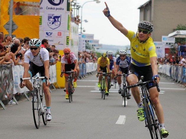 Leopold König slaví celkové prvenství na Czech Cycling Tour 2013
