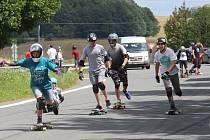 Longboardisté na Ecce Homo Freeride ve Šternberku