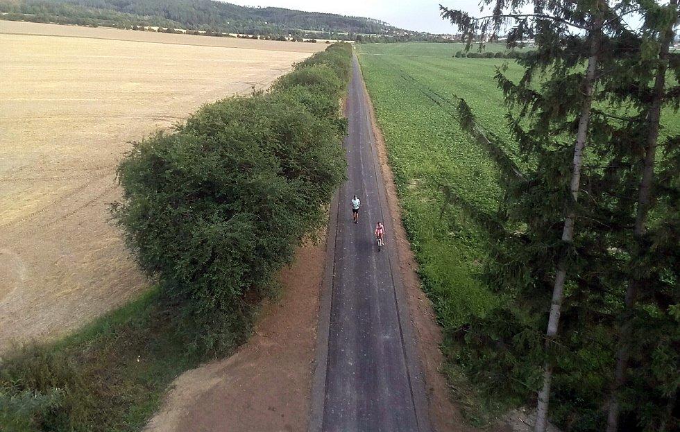 Nová cyklostezka Dolany - Bělkovice.