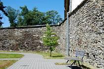 Část městských hradeb v Litovli