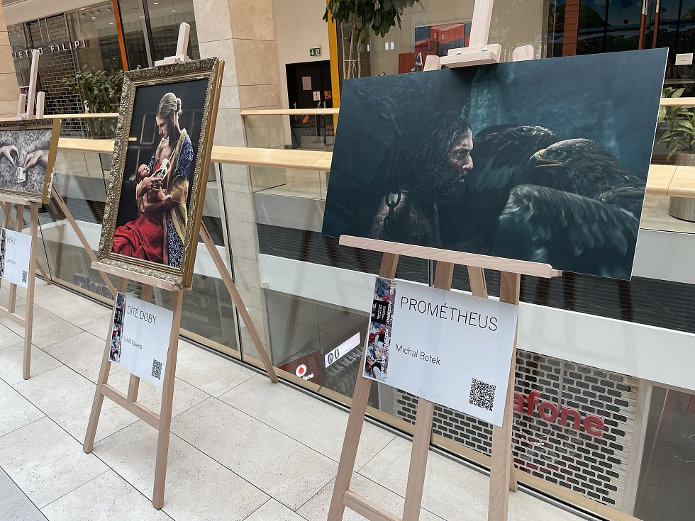 Galerie Šantovka připravila ve spolupráci s regionálními umělci výstavu s názvem NEomezení, 17. dubna 2021