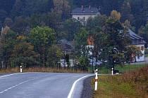 Cesta do Ostružné. Ilustrační foto