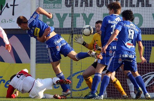 Klesnilův gólový moment - Sigma vede 1:0