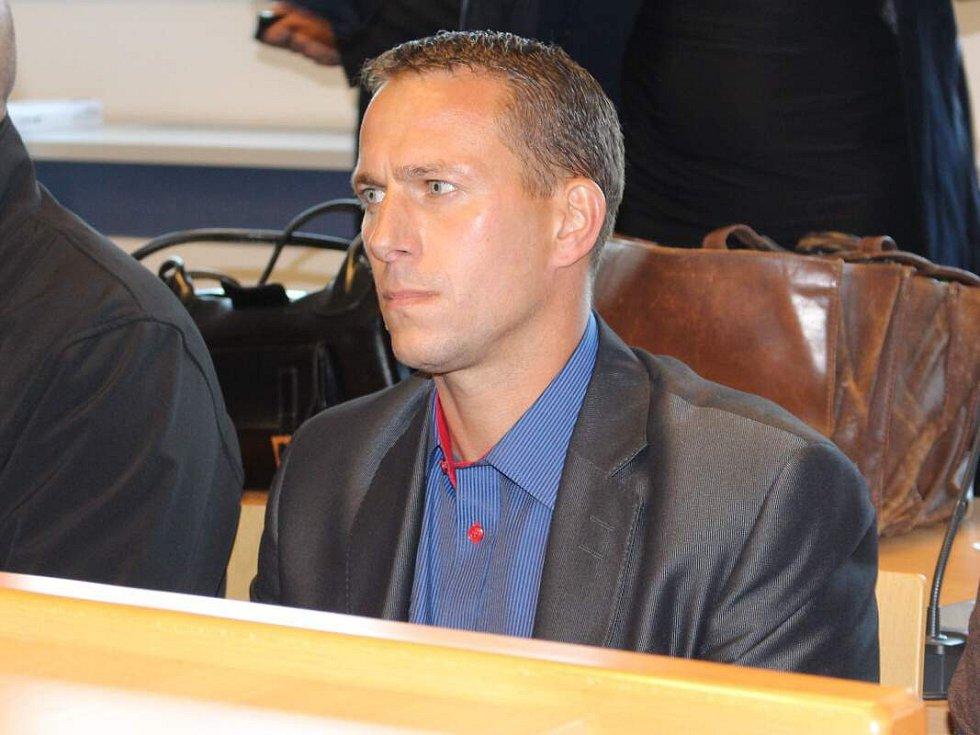 Obžalovaný v metanolové kauze Martin Svoboda u krajského soudu ve Zlíně