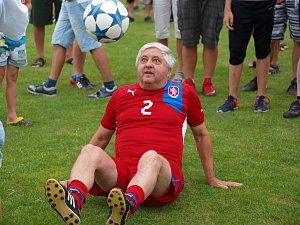 Fotbalové hvězdy míří do Slavonína