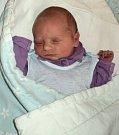 Jonáš Filip, Šternberk, narozen 28. ledna ve Šternberku, míra 49 cm, váha 2890 g.