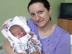 Nela Malíková, Přáslavice, narozena 22. března v Olomouci, míra 51 cm, váha 3340 g.