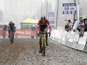 V Uničově se konal poslední závod českého poháru v cyklokrosu. Michal Malík
