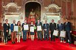 Krajské ceny za cestovní ruch se předávaly ve čtvrtek  10. října v arcibiskupském paláci.