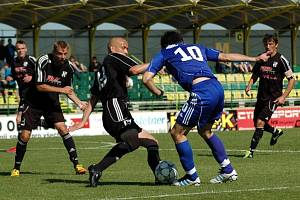 HFK Olomouc (v černém). Ilustrační foto.
