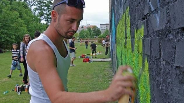 Graffiti Bude V Olomouci Legalni Jeden Den Olomoucky Denik