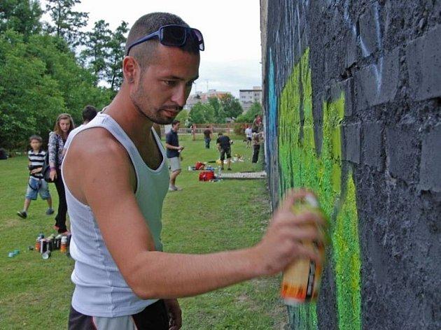 Graffiti Show 2011 v prostorách olomoucké Loděnice UP