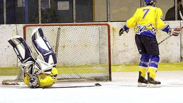 Šternberští hokejisté. Ilustrační foto