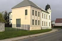 Vizualizace přístavby Obecního úřadu v Horce nad Moravou