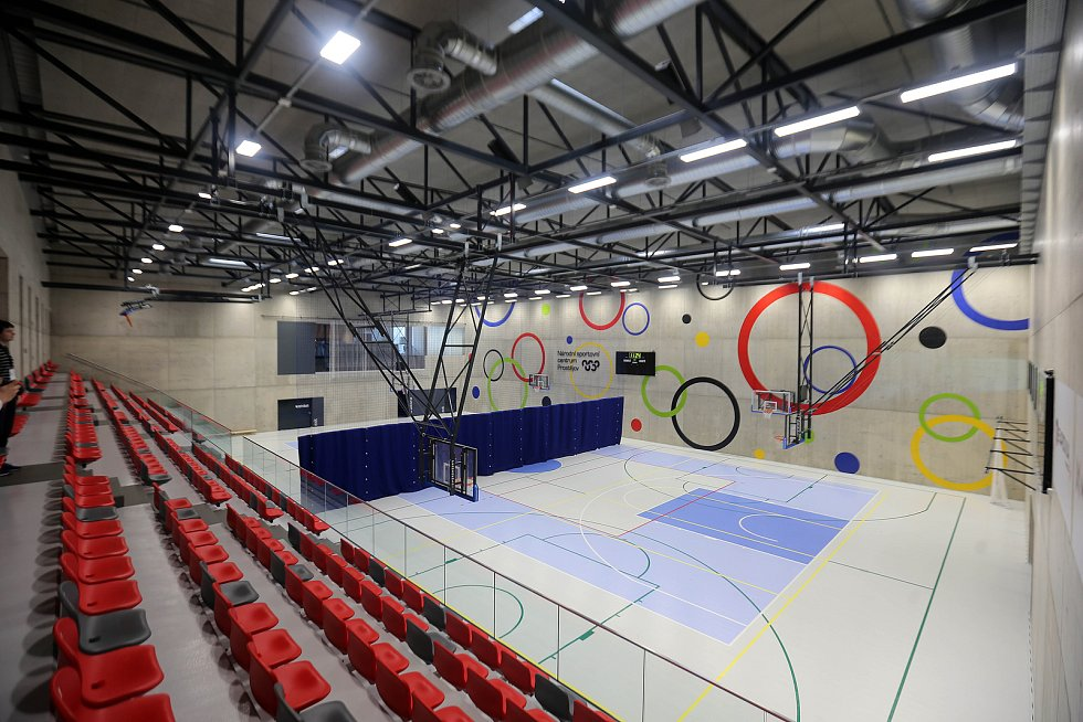Národní sportovní centrum v Prostějově.