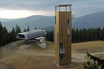 Nová rozhledna na Medvědí hoře u Koutů nad Desnou