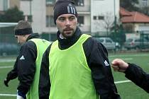 Michal Ordoš na tréninku Sigmy